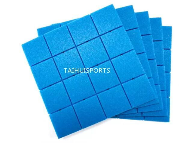 PE Foam Double-Sided Grooved Artificial Grass Shock Pads For Football 70 Density Water Proof Customized Thickness