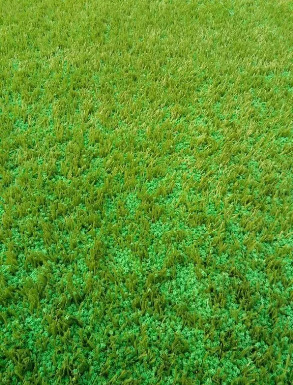 Environmental Friendly Artificial Grass Infill SEBS Rubber Granules Odorless Anti-Static With TPE / TPV At FIFA Standard